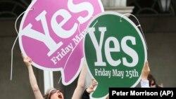 Громадяни Ірландії підтримали легалізацію абортів на референдумі у травні цього року