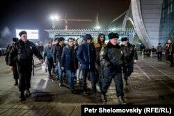 Депортация трудовых мигрантов, граждан Таджикистана. Москва, декабрь 2015 года