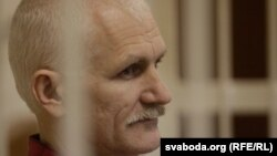 Imprisoned Belarusian human rights activist Ales Byalyatski