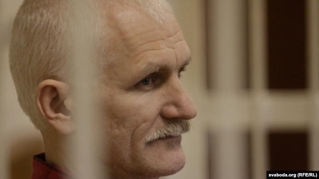 Imprisoned Belarusian human rights activist Ales Byalyatski