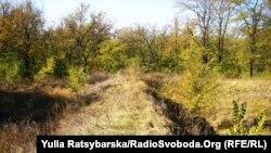 Залишки валів земляної Богородицької фортеці ХVІІ століття Дніпро, Самарський район