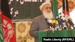 قاضی محمد امین وقاد یکتن از اعضای شورای عالی صلح افغانستان