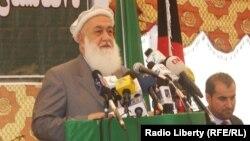 قاضی محمد امین وقاد عضو شورای عالی صلح و مسئول اتحاد شورا های حزب اسلامی در افغانستان