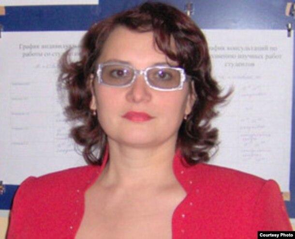 "Оксана Тарабукина, председатель общественного фонда ""Кайсар"". Темиртау."