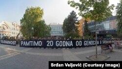 Aktivisti i Žene u crnom u Šapcu