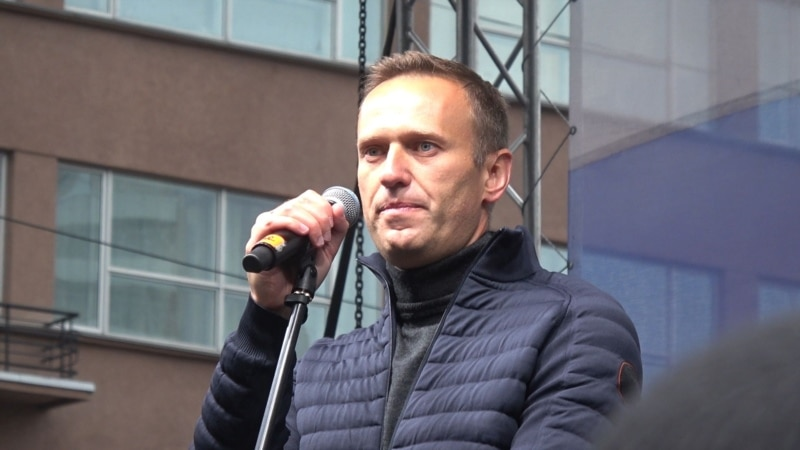Russian Activist Navalny Fails To Make Sakharov Prize Shortlist