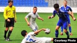 Игра в рамках чемпионата Казахстана по футболу.