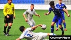 2012 жылғы Қазақстан футбол чемпионатының ойындарынан көрініс. Суреттер Қазақстан футбол федерациясының ресми сайтынан алынды.
