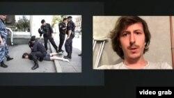 Задержание Константина Коновалова