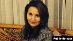 Жительница Алматы Гуляим Макашева.