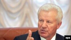 Колишній спікер Верховної Ради, голова Соціалістичної партії України Олександр Мороз