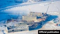 Строительство УЦА в Нарыне