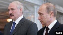 Аляксандар Лукашэнка, Уладзімер Пуцін