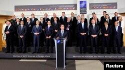 ნატოს საგარეო საქმეთა მინისტრების შეხვედრა ბრიუსელში