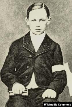 Arthur Rimbaud uşaqlıda