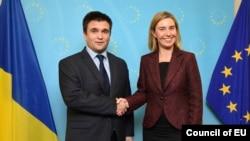 Павло Клімкін та Федеріка Могеріні обговорили останні події на Донбасі
