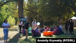 День знаний в Крымском федеральном университете имени Вернадского. Крым, Симферополь, 1 сентября 2019 года