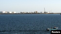 Іранський нафтовий порт Калантарі в місті Чабагар на схід від Ормузької протоки
