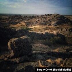 Заповідник Кам'яні могили, с. Назарівка, Донецька область