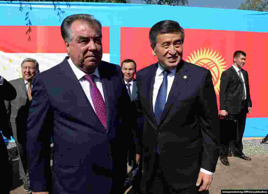 Кыргызстан менен Тажикстандын президенттери чек ара маселесин Исфарадан кийин Чолпон-Атада талкуулашат.