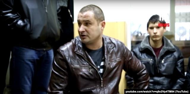 "Евгений, электромеханик на пароме ""Александр Ткаченко"""