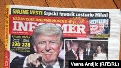 Jedna od naslovnica Informera