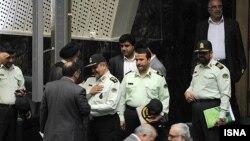 مقامات نیروی انتظامی ایران در مجلس شورای اسلامی