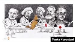 محمدرضا نیکفر و مهمانانش/ کاری از توکا نیستانی