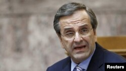 Kryeministri grek, Antonis Samaras.