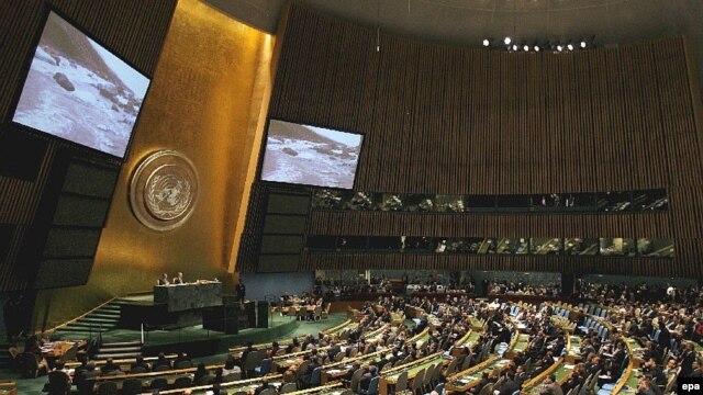 اين پيش نويس با ۷۲ رای موافق در برابر ۵۰ رای مخالف و ۵۵ رای ممتنع تصويب شد تا در جلسه مجمع عمومی سازمان ملل بار ديگر و برای تصويب نهايی به رای گذاشته شود.