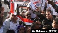 6شباط2015 تظاهرة مؤيدة للسيسي في القاهرة