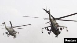 Mi-24 hücum helikopteri