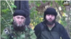 Akhmed Chatayev (right) appeared in a video released in February with Islam Seit-Umarovich Atabiyev, aka Abu Jihad.