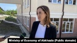 Министр экономики Кристина Озган
