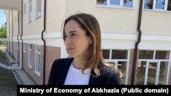 Вице-премьер, министр экономики Абхазии Кристина Озган