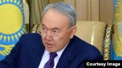 Қазақстан президенті Нұрсұлтан Назарбаев. Астана, 28 қаңтар 2015 жыл.
