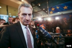 Comisarul european Gunther Oettinger