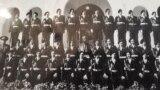 Seria de elevi a domnului Mircea Carp (ultimul, din ultimul rândul de sus - dreapta), Liceul Militar de la Mănăstirea Dealu