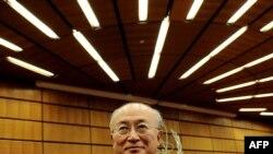 یوکیا آمنو، مدیرکل آژانس بینالملی انرژی اتمی
