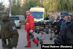 Эвакуация раненых после нападения