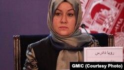 رویا دادرس، سخنگوی وزارت امور زنان