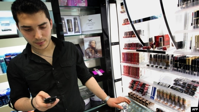 Mobile phones and cosmetics are two of the types of goods covered by the ban on imports.