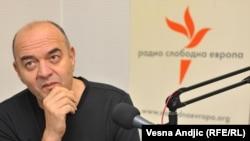 Duško Vujošević u studiju RSE