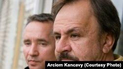 Андрэй Лапцёнак і Сяргей Харэўскі. Фота Арцёма Канцавога.