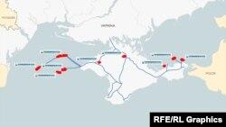 В 2014 году Россия захватила 9 из 10 месторождений, на разработку которых получил лицензии «Черноморнефтегаз»