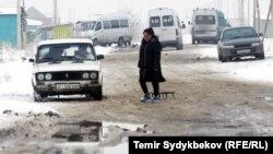 Бишкектин четиндеги жаңы конуштардын бири