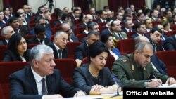 Заседание парламента Таджикистана, Душанбе, 21 ноября