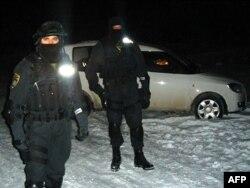 Policija u Gornjoj Maoči u jednoj od prethodnih akcija pretresa.
