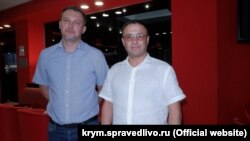 Ділявер Кайданов (праворуч)