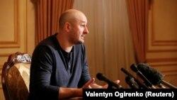 Аркадий Бабченко на пресс-конференции в Киеве